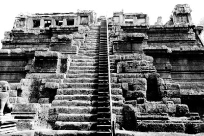 Escalier raide #01